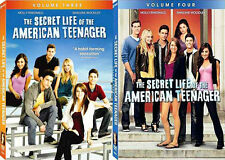 The Secret Life Of The American Teenager Vol. 3 + 4 . Complete Season 2 . 6 DVD