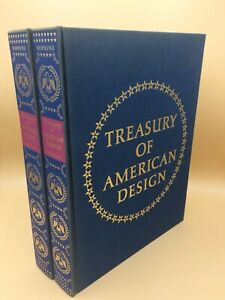 Treasury of American Design Vols 1 and 2, A Pictorial Study of Popular Folk Arts