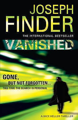 Finder, Joseph, Vanished (Nick Heller 1), Very Good Book