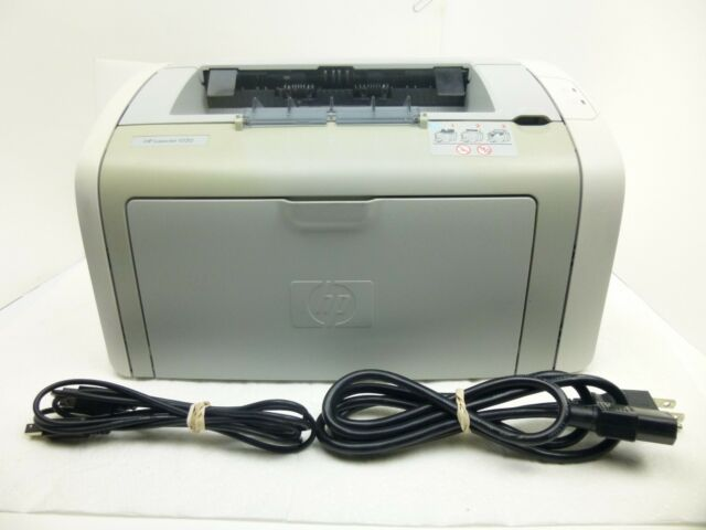 HP LaserJet 1020 Laser Printer w/Toner/Power & USB Cables - Tested & Working!