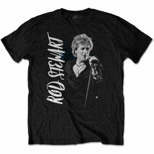 Rod Stewart Admat Officiel Unisexe T-Shirt Noir