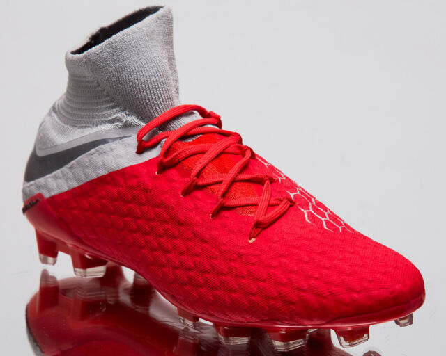 a3bcdc8e5d71 Nike Hypervenom 3 Pro DF FG Men New Crimson Football Soccer Cleats AJ3802 -600