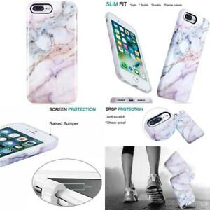 Details about Pink Marble Iphone 7 Plus Case For Girls Anti-Scratch Shock Proof Cases Cover