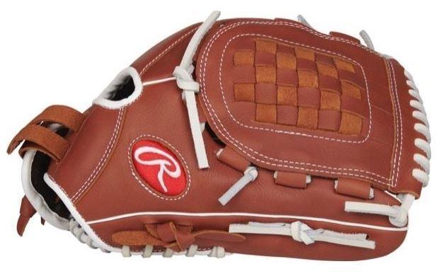 Rawlings Fastpitch Softball 12  R9 serie lanzador Infield Guante Mano Derecha lanzador R9SB120-3DB