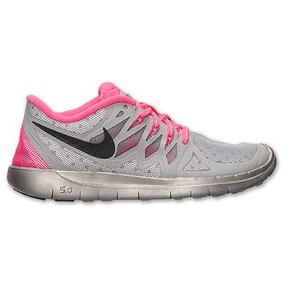 New Nike Youth Free 5.0 Flash GS (685712 001) Reflect SilverBlackHyper Pink | eBay