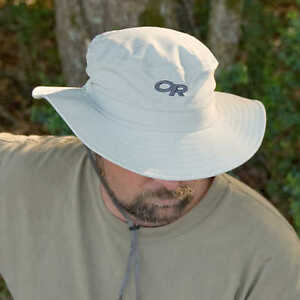 e0227421 Outdoor Research Helios Sun Hat in Sand Size Large L With 50 UPF FREESHIP