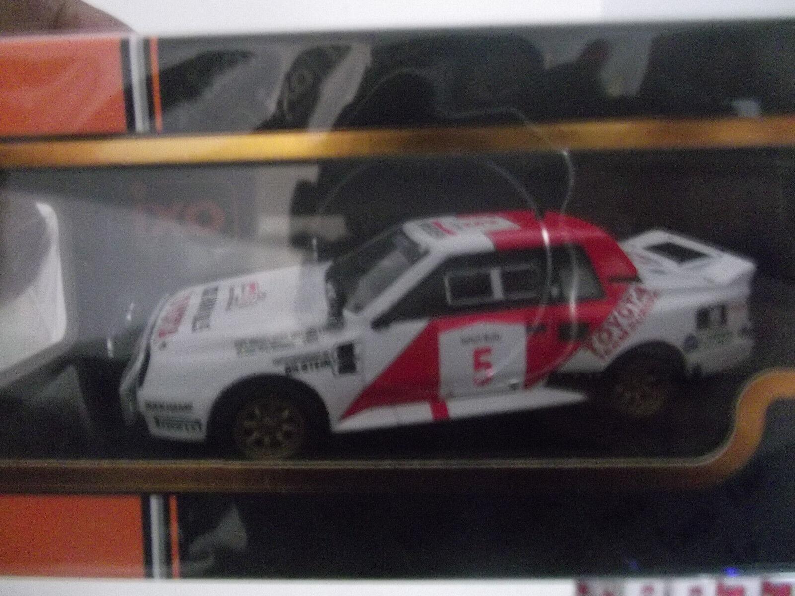 Toyota Celica Twincam Turbo Safari Rally 1984 1984 1984 Waldegård 1 43 Ixo Rac 258 076d8e