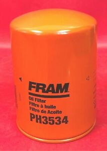 Engine Oil Filter Fram PH3534 For ALLIS-CHALMERS, FIAT, FORD, NEW HOLLAND