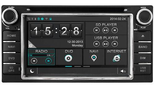 Autoradio GPS/DVD/NAVI/BLUETOOTH/IPOD/RADIO TOYOTA TERIOS/LANDCRUISER 100 D8158
