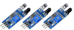 3-Stueck-Infrarot-IR-Line-Tracker-Reflexlichtschranke-2-30cm-LM393-f-Arduino