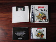 RAPALA  PRO FISHING                 -----   pour GAME BOY ADVANCE