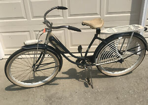 Antique Bicycle Elgin Blue And White Original Project Bike VERY COOL!!