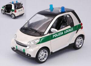 Smart fortwo polizia penitenziaria 1:24 forze dell/'ordine scala new ray