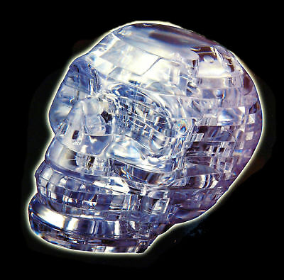 3d Cristallo Puzzle - Teschio Tecnologie Sofisticate