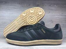 2788890df Adidas Originals Samba OG Core Black Gold Metallic Gum BZ0063 Men's Size  7.5 US