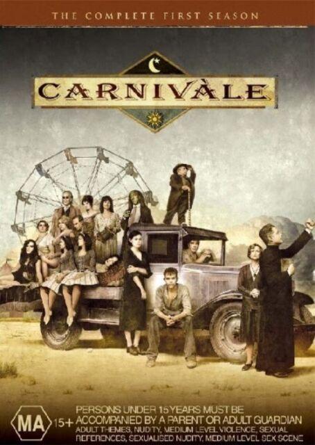 Carnivale : Season 1 (DVD, 2005, 6-Disc Set)  LIKE NEW .... R4