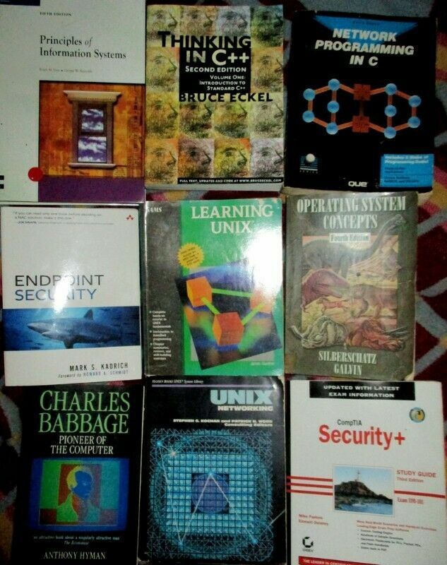 Old Computer Books for sale R75 each