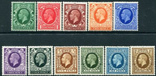 1934 Photogravure Set of 11 Values UNMOUNTED MINT V81340