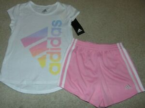 NWT-Girls-ADIDAS-Outfit-Size-5-Super-Cute-FS