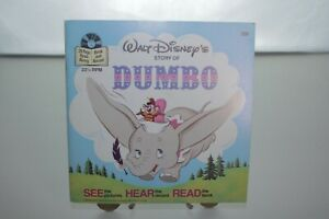 "WALT DISNEY's DUMBO Vinyl LP 7"" Record"