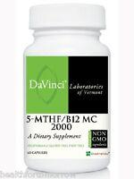 Davinci Labs 5-mthf/b12 Mc 2000 60 Caps