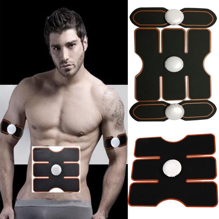 EMS Dispositivo di formazione muscolare Gear Corpo Addominali BRACCIO Casa Esercizio Fitness Forma