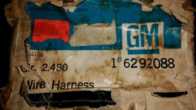 nos gm wiring harness c2 1967 67 corvette 6292088 ebay rh ebay com