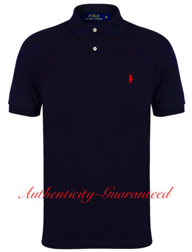 Ralph Lauren Mens Classic Fit Short Sleeve Polo Shirt All Colours RRP £75 BNWT
