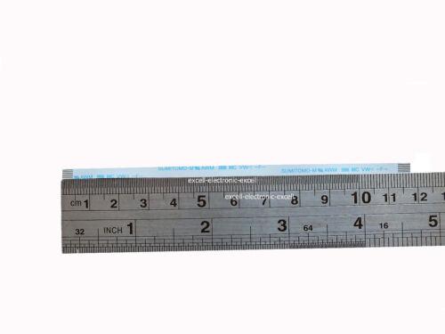 AWM 2896 80C RIBBON CABLE same side 0.50mm pitch  6 pin L117mm   2Pcs 6pin