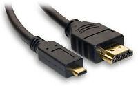 6ft Micro Hdmi Hd Tv Cable For Sony Hx50v Hx300 Tx30 Rx100 2 Rx1r Rx1 Camera
