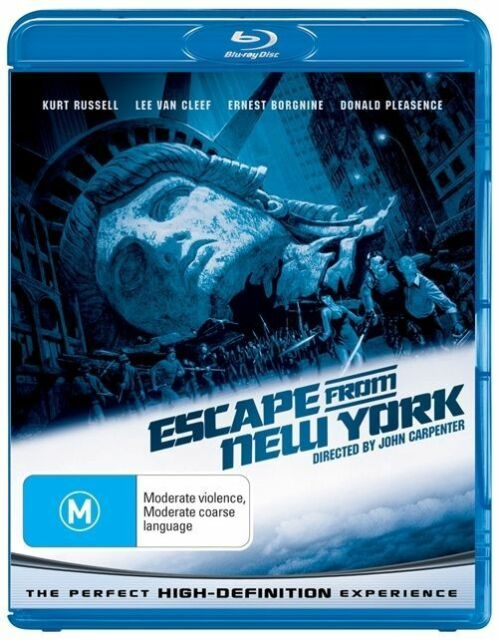 Escape From New York (Blu-ray, 2009)