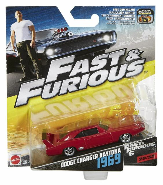 1:55 Fast & Furious 6 Die Cast 1969 Dodge Caricabatterie Daytona - No 29 Of 32 -