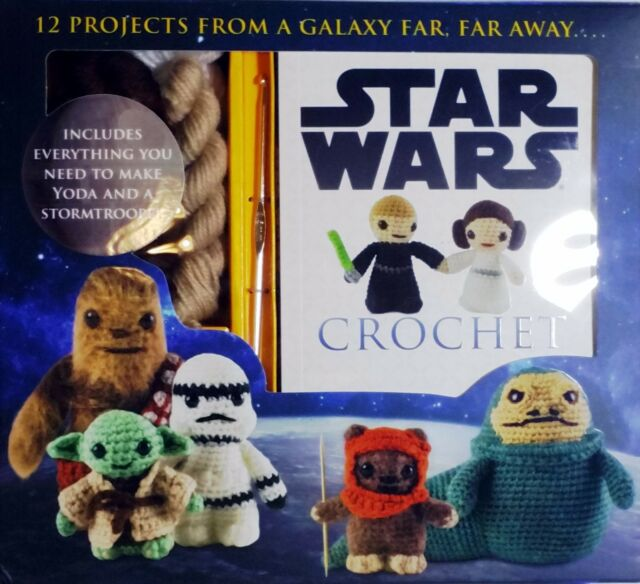 Star Wars Crochet Kit by Lucy Collin New Sealed Yoda Darth Vader Chewbacca More