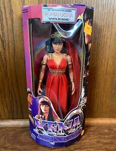 "Roman Xena Vintage Warrior Princess 12"" Figure Doll New NIB 1999 Toybiz 90s TV"