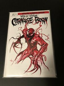 Web Of Venom Carnage Born 1 Gabriele Dell Otto Variant Trade Not