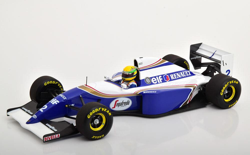 Minichamps Williams FW16 Rothmanns GP Brazil 1994 Pole Position Senna  2 1 18