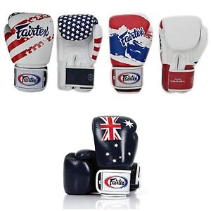 Fairtex BGV1 3T Color Sporting Training MMA Martial Arts Muay Thai Boxing Gloves