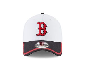 Boston Red Sox New Era Tinted Trim Era 39THIRTY Flex Hat - White  564c422dc387