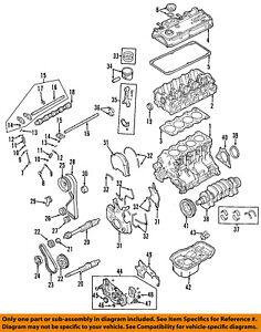 mitsubishi oem 04 12 galant engine cylinder head gasket mn163381 ebay rh ebay com 190E Engine Parts Diagram Engine Head Gasket Diagram