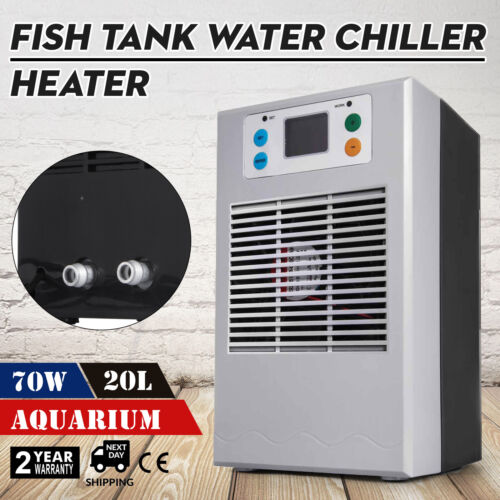 Aquarium Water Chiller Fish Shrimp Tank Cooler Heating Cooling Machine 20L