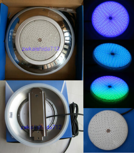 Underwater Led Swimming Pool Light SMD55W 12V RGB Stainless Steel316 4M cable