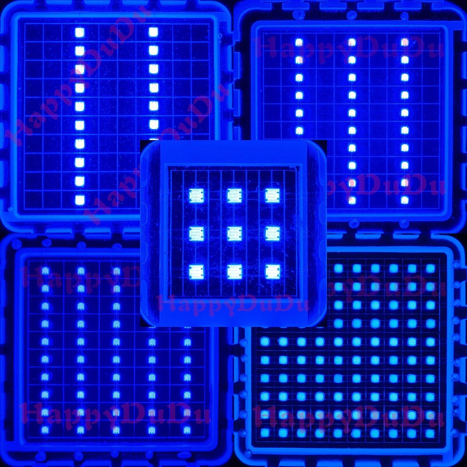 10 W 20 W 30 W 50 W 100 W Azul 450 µ  455 µ Lámpara LED Bombilla crecimiento de plantas acuario