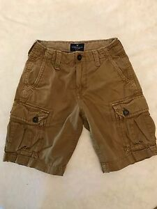cf036faebde2 American Eagle Outfitters Summer Cargo Men s Tan Shorts Classic ...