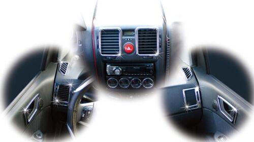 Chrome Interior Molding Trim Cover for 02~10 Hyundai Getz Click w// Tracking No.