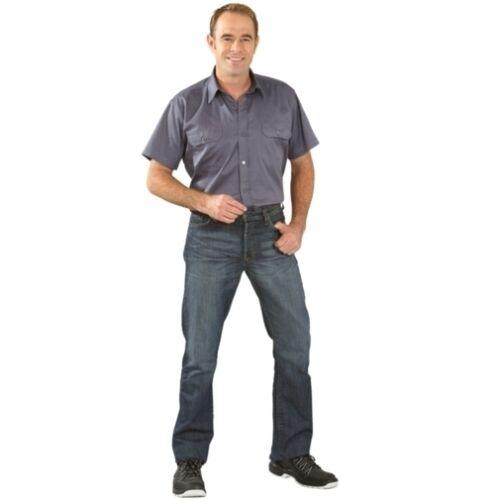 Köperhemd 1//4-Arm Arbeitskleidung Berufskleidung PLANAM