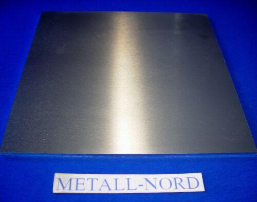 Aluminium 300x300x10 Cut t651 AW 7075 high fixed alznmgcu 1,5 Aluminium plate
