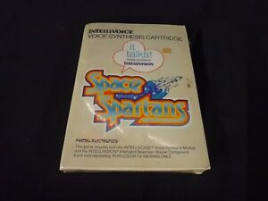 Space-Spartans-Intellivision-1982-Brand-New-Factory-Sealed