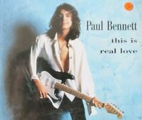 Paul Bennett This is real love [Maxi-CD]