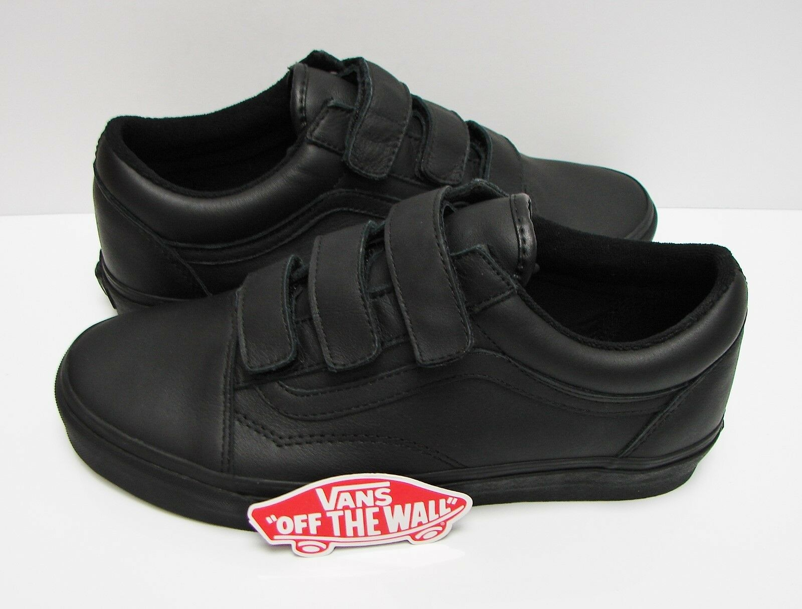 Vans Old Skool V Mono Leather Black VN0A3D29OOZ Men's Men's Men's Size  10.5 f7a46f