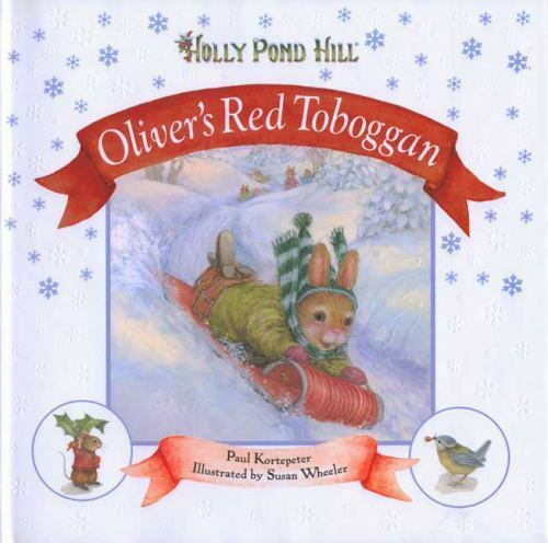 Oliver's Red Toboggan (Holly Pond Hill)-ExLibrary
